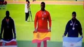 Suena el himno franquista en el Campeonato Iberoamericano de Atletismo