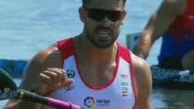 Carlos Garrote, campeón del mundo en K1 de 200 metros