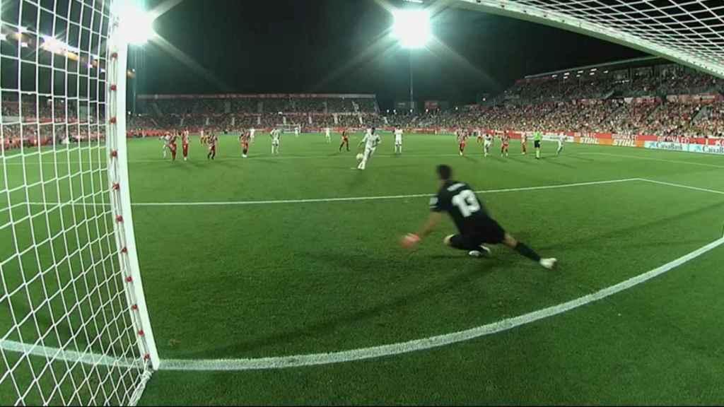 Sergio Ramos marca de penalti a lo Panenka
