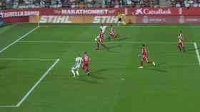 El VAR confirma el gol legal de Benzema al Girona