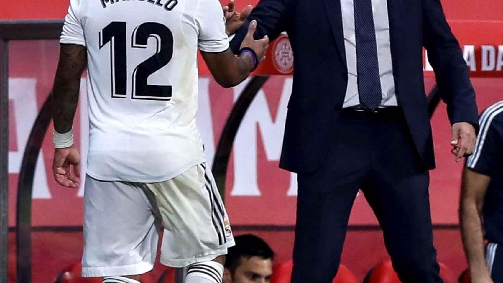 Marcelo, sustituido en Girona