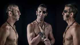 Tres retratos del torero Juan José Padilla.