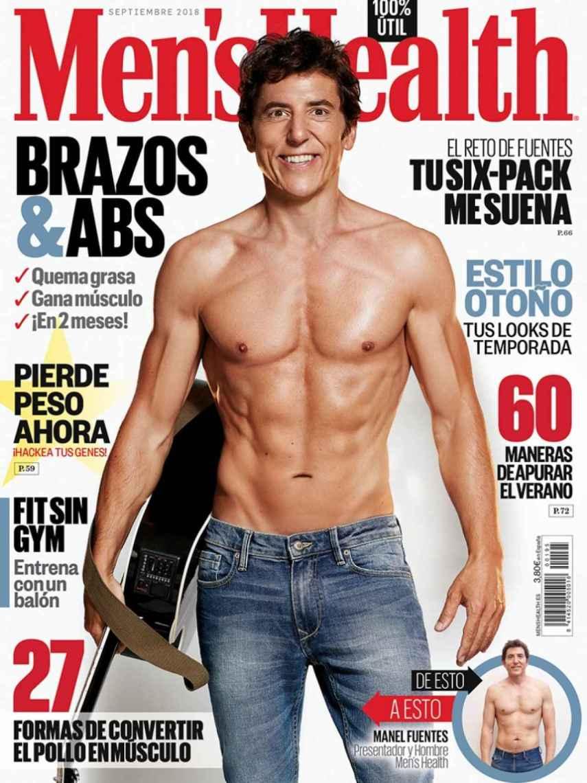 Manel Fuentes en la portada de 'Men's Health'