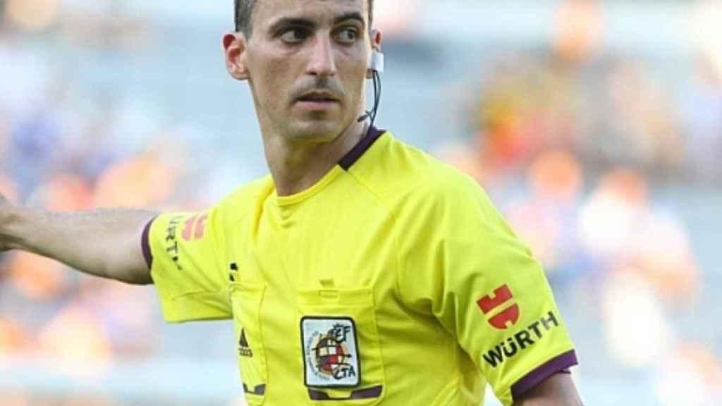 Jaime Latre, durante un partido. Foto:atléticodemadrid.com