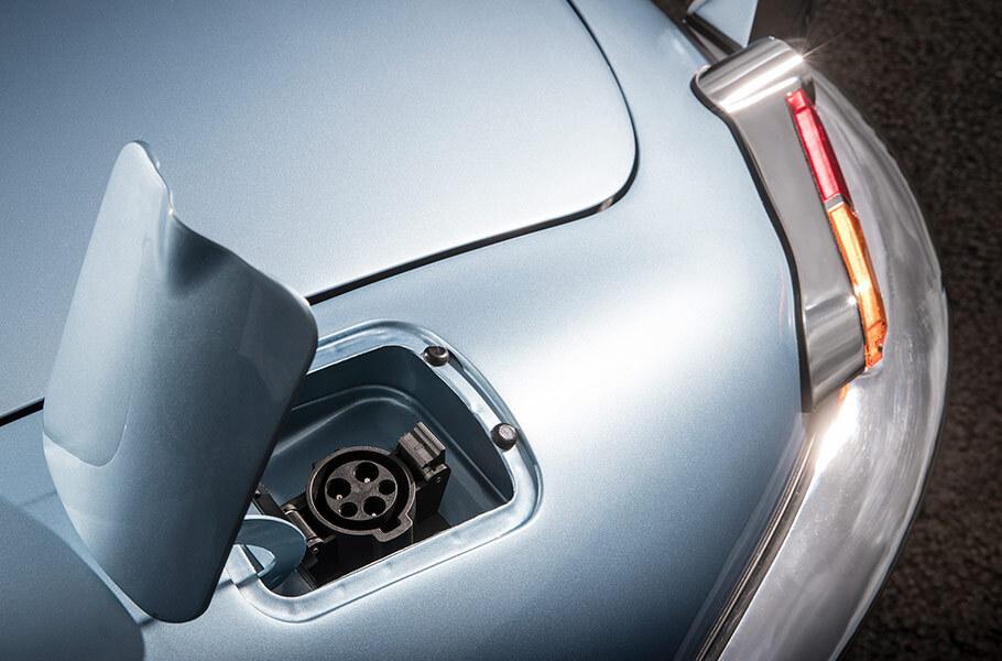 jaguar e-type zero concept carga electrica