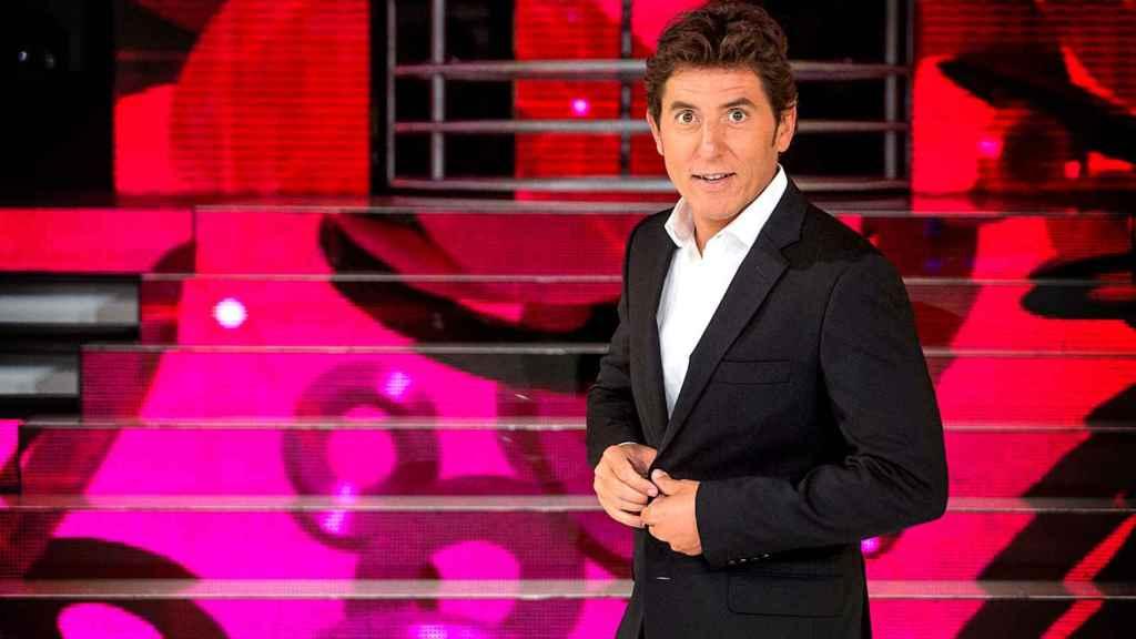 El presentador Manel Fuentes en 'Tu cara me suena'