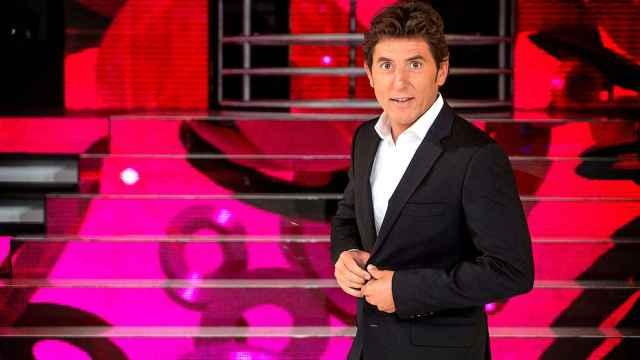El presentador Manel Fuentes.