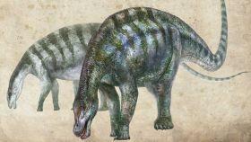 Un dibujo del dragón de Lingwu.