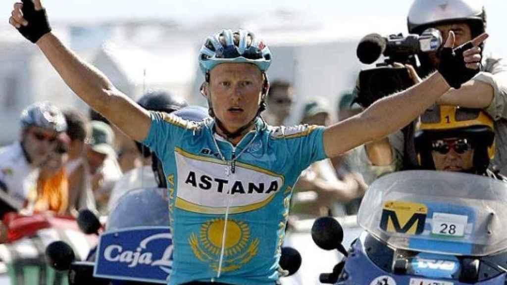 Vinokourov, ganador de La Vuelta en 2006.