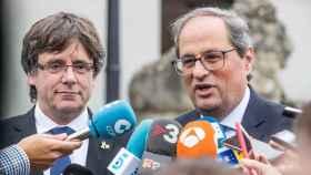 Puigdemont dice que algunos partidos están flirteando con la violencia