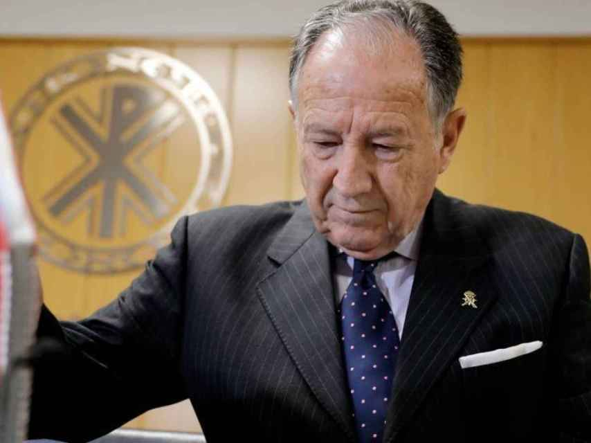 El director del CNI, general Félix Sanz Roldán, en una imagen de archivo.