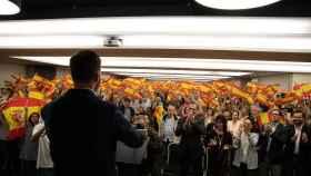 Acto de Vox en Barcelona.