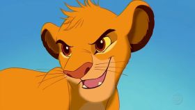 Simba el malo de El rey león y no te habías dado cuenta