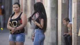 Imagen de archivo de unas prostitutas.