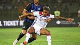 Mariano Díaz, durante un partido del Olympique de Lyon Foto:ol.fr