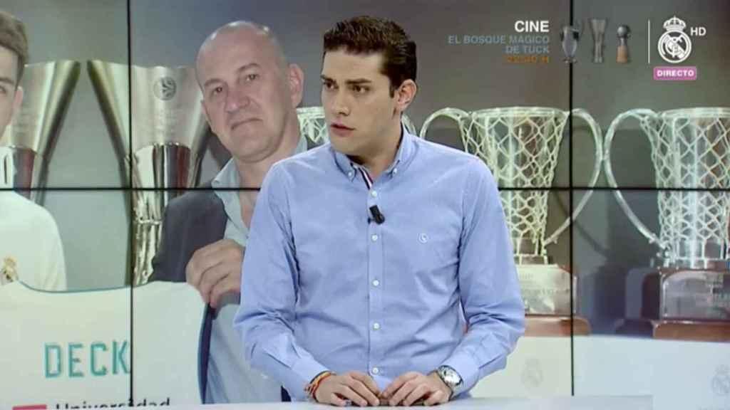 Jorge Calabrés, en la tertulia de Realmadrid TV