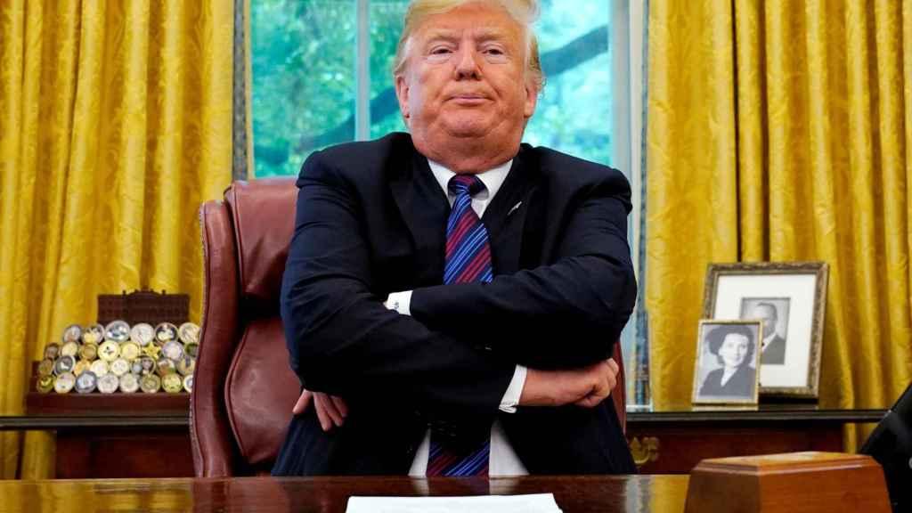 Trump en el Despacho Oval