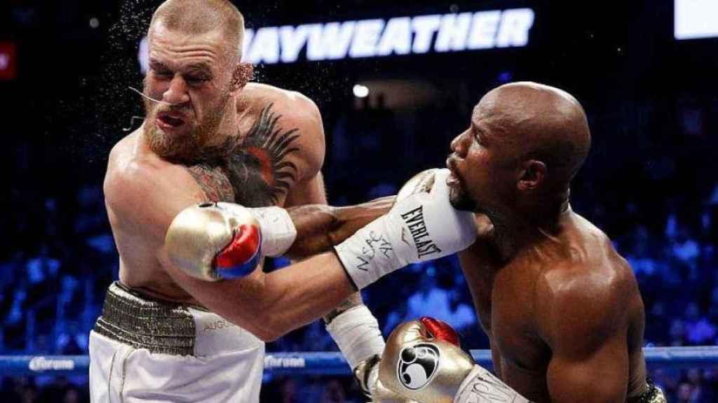 McGregor y Mayweather, en el combate de los 1.000 millones de dólares.