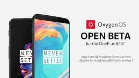 Los OnePlus 5 y 5T se actualizan en su última beta con modo retrato para selfies y mucho más