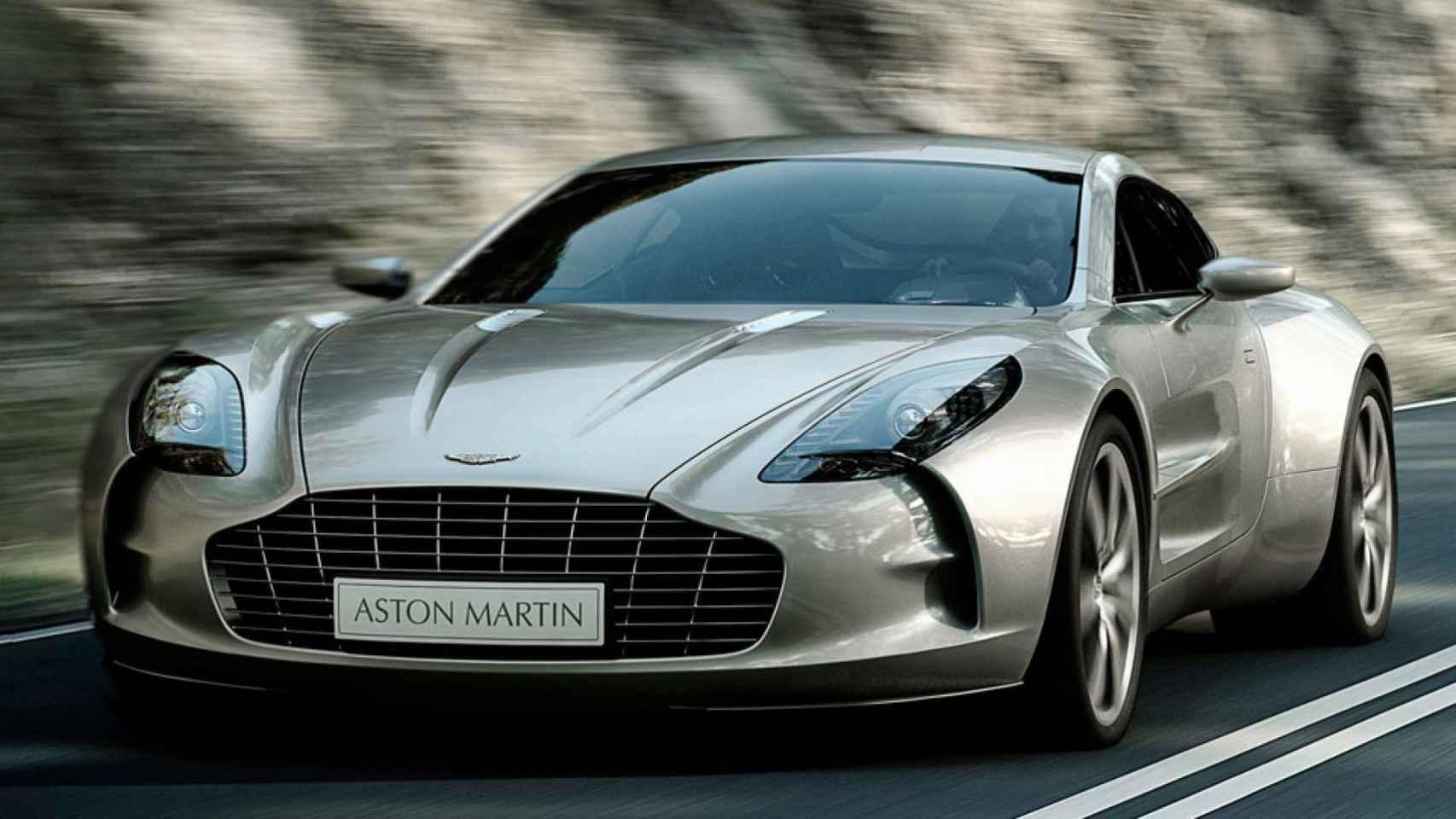 Coche Aston Martin, imagen de archivo.