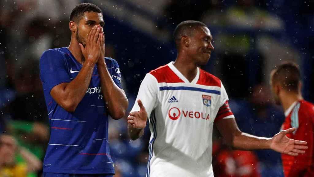 Loftus-Cheek en la pretemporada con el Chelsea