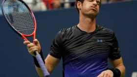 Andy Murray se lamenta en un partido