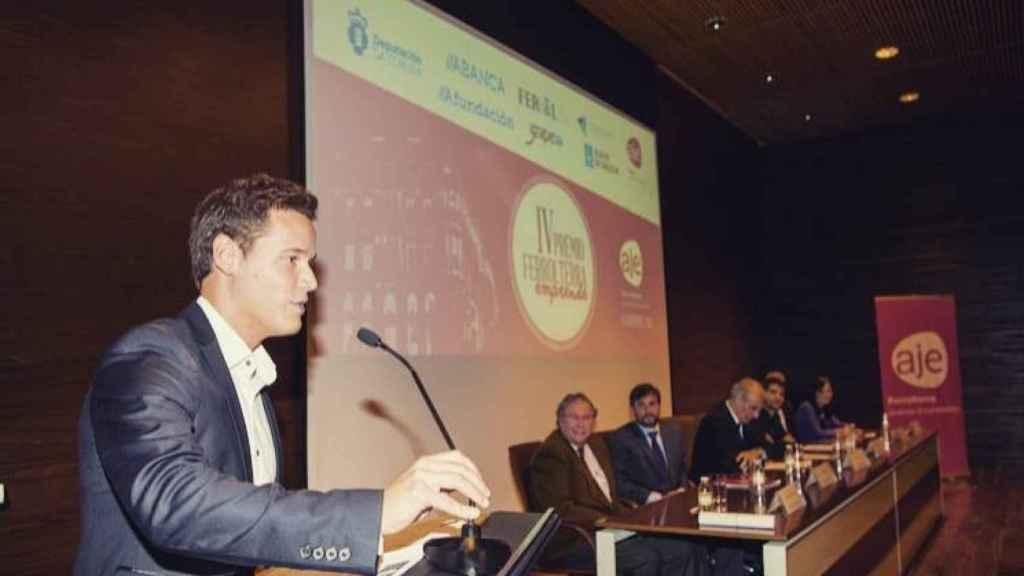 Sergio ha recibido varios premios por su emprendimiento