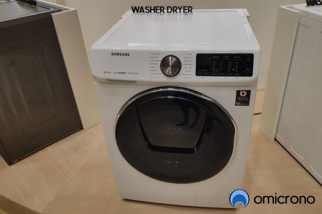 samsung quick drive doble tambor lavadora entera
