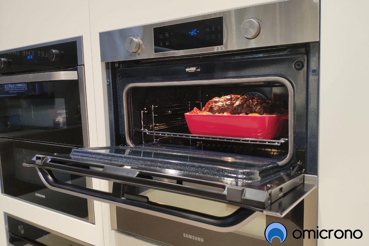 horno samsung Dual Cook Flex compartimento superior