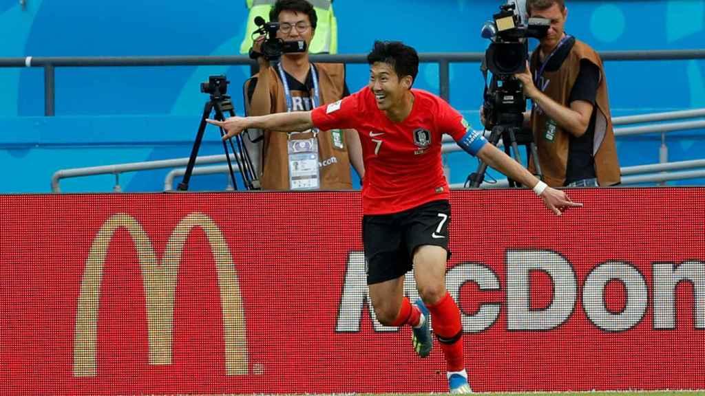 Son Heung-Min, en el pasado Mundial.