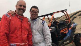 Lucas Barrón competirá junto a su padre en el Dakar.
