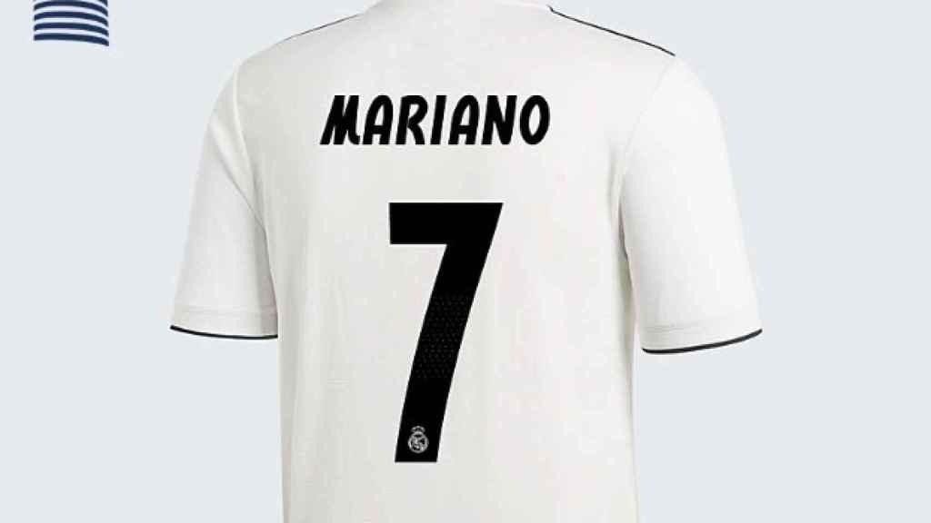 La posible camiseta de Mariano en el Real Madrid