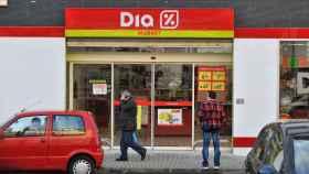 Un supermercado Dia, en una imagen de archivo.