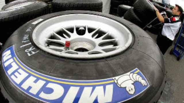 Un neumático Michelin, en una imagen de archivo.
