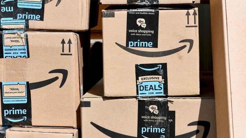 Cajas de Amazon Prime