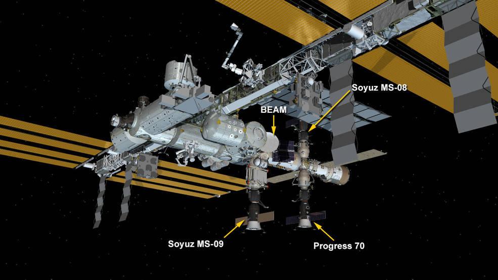 estacion espacial internacional iss