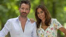 David Valldeperas y Carmen Alcayde en una imagen de Telemadrid.