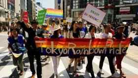 Desfile del Orgullo en Tokio, Japón.