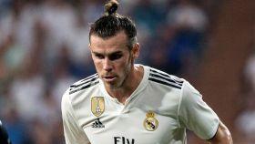 Gareth Bale, controlando un balón