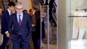 Pablo Isla, el presidente ejecutivo de Inditex en uno de los establecimientos de Zara de la compañía.