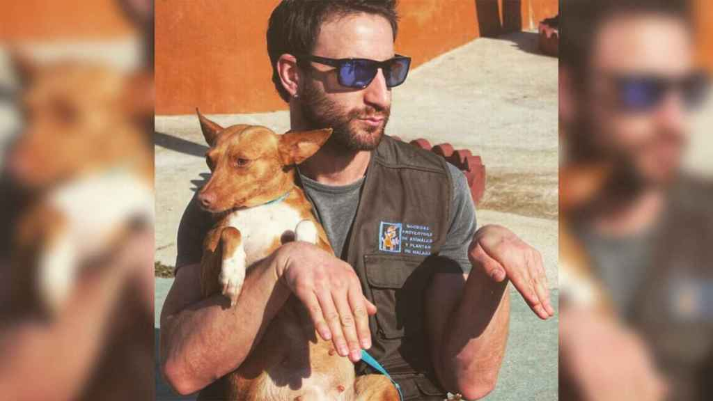 Dani Rovira colabora con protectoras de animales, sobre todo con la de su Málaga natal.