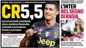 Portada Corriere dello Sport (02/08/2018)