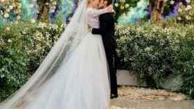 Chiara Ferragni y Fedez tras darse el 'sí, quiero' en su boda.