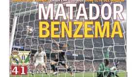 La portada del diario AS (02/09/2018)