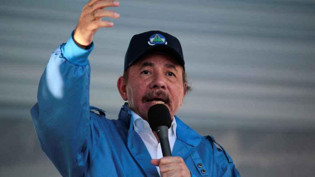 El presidente de Nicaragua, Daniel Ortega, en una imagen de archivo.