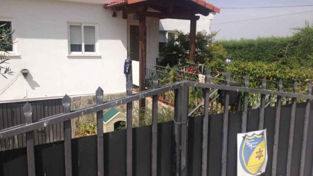 La casa que Tamara y Ramón Steven (Alpidio) compartían.