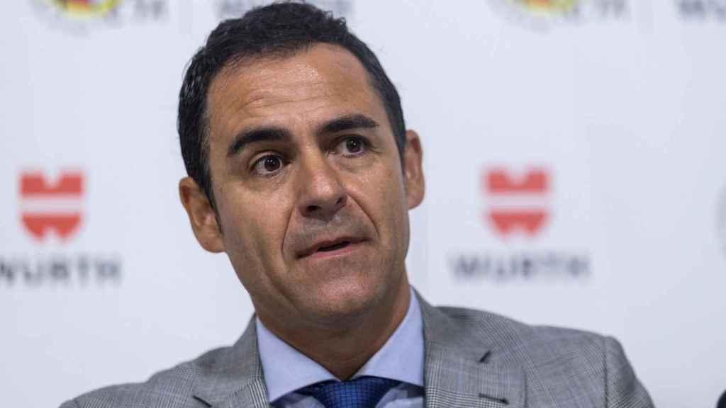 Carlos Velasco Carballo, durante una rueda de prensa