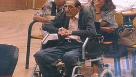 Eduardo Vela Vela durante el juicio en la Audiencia de Madrid.