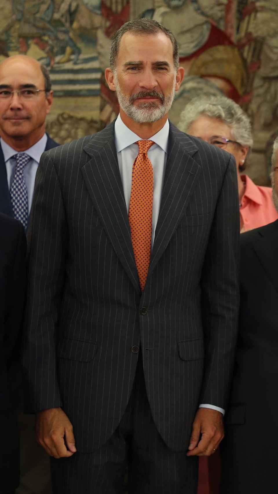 Felipe VI en Zarzuela.