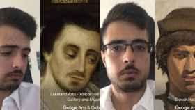 google art selfie ejemplos